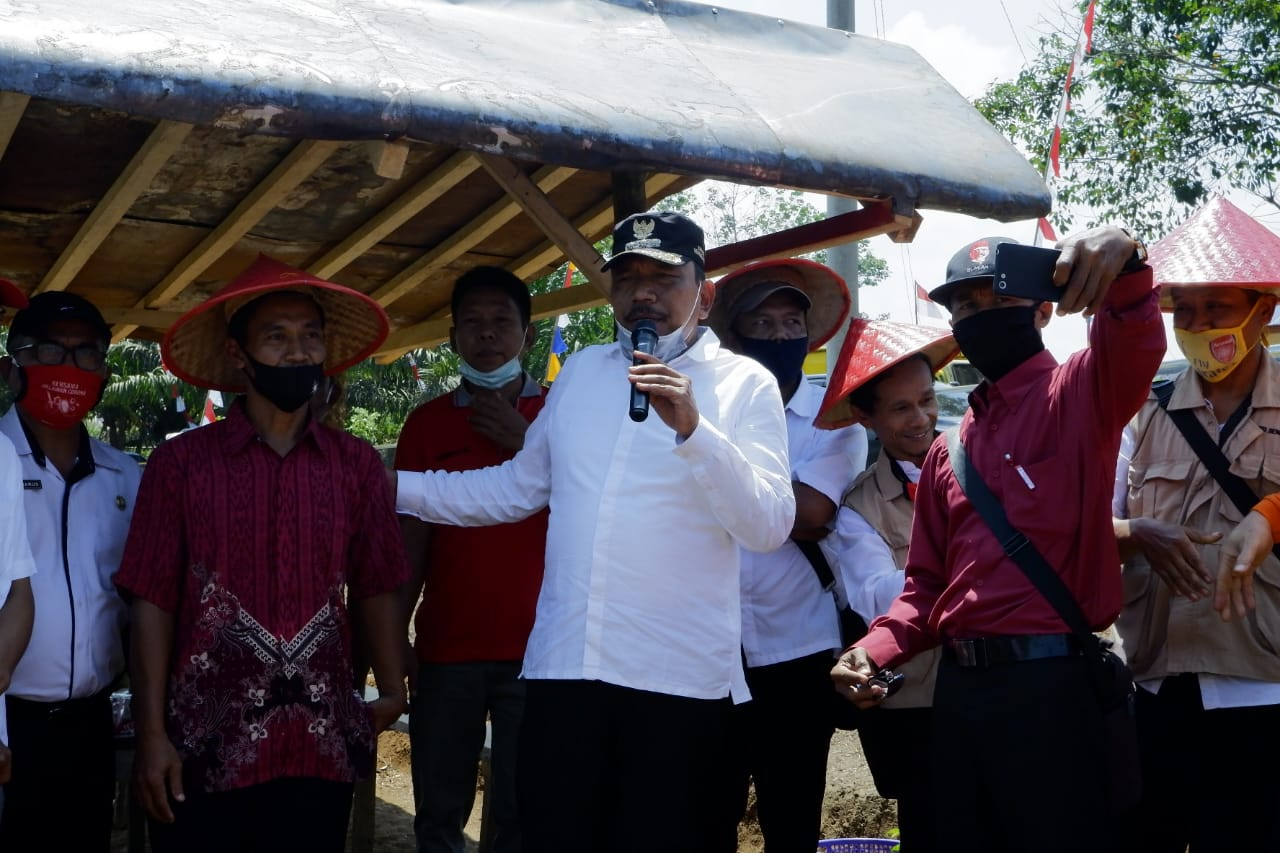 Kunker, Bupati Bengkulu Utara Serap Aspirasi Masyarakat