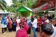 Dihadiri Bupati, Pemdes Suka Makmur Gelar Syukuran Rampungnya Pembangunan Jalan