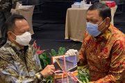 Bupati Mian Hadiri Rakor Kesiapan Pilkada Serentak tahun 2020