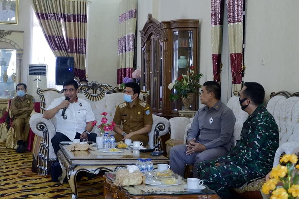 Wakil Bupati BU Sambut Baik Sinergitas Tim Kemenkopolhukam Kunjungi Pulau Enggano