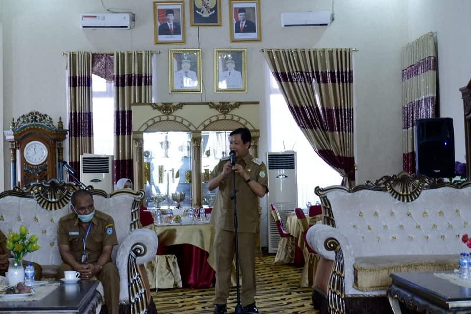 PJS Bupati Bengkulu Utara Silaturahmi Bersama Forkopimda