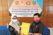 Pjs Bupati BU Tandatangani Perjanjian Kerja Sama Program Penanggulangan Stunting