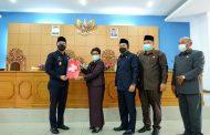 Wabup Arie Hadiri Rapat Paripurna Rekomendasi DPRD Terhadap LKPJ BU