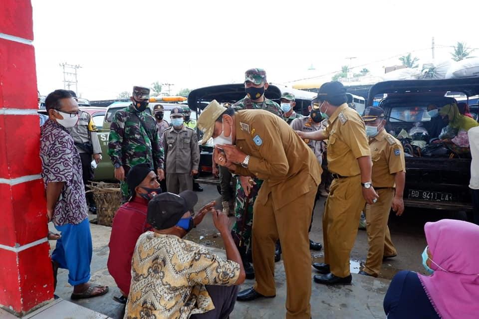 Bupati Bengkulu Utara Terjun ke Lapangan Checking PPKM Mikro