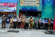 Cek Kesiapan Pos Pantau, Bupati Mian bersama Forkopimda Tinjau Posko Pengamanan Larangan Mudik