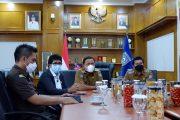 Forkopimda Bengkulu Utara Ikuti Zoom Meeting, Presiden Jokowi: Waspada Potensi Covid-19 Pasca Lebaran