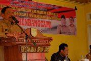 Cegah Hama Wareng, Bupati Mian Intruksikan Jalan Industri Sawah Kemumu Ditanami Tanaman Ganyong