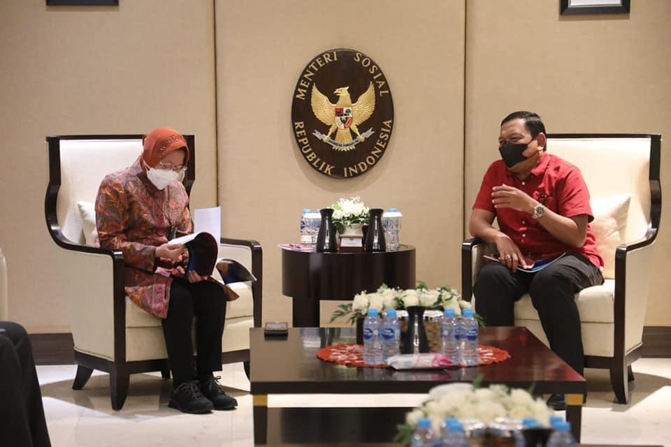 Bupati Mian Audensi Dengan Menteri Sosial, Bahas Usulan Program Pemberdayaan