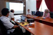 Pemkab BU Rencanakan MoU Dengan PT. Taspen Persero Sediakan JKK Bagi Non ASN di Lingkungan Pemkab BU