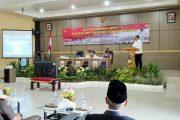 Bupati Mian Hadiri Rakor Anev Perkembangan Covid-19 Bengkulu Utara