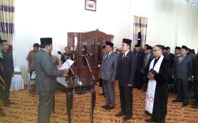 Bupati Melantik Pejabat Eselon II,III dan IV