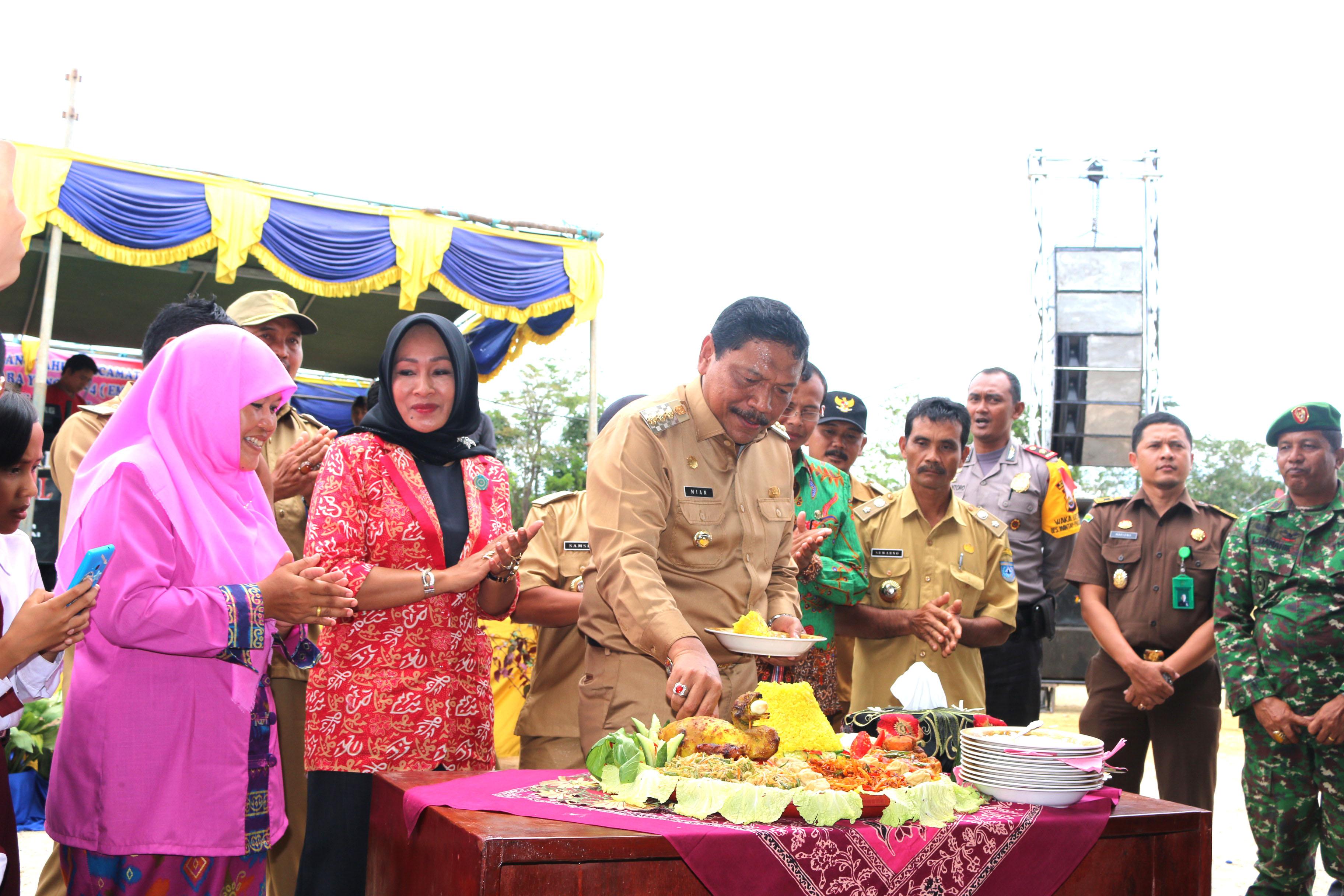 Hari jadi ke-4 kecamatan Ulok Kupai
