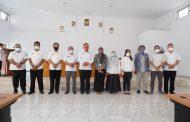 Plh Bupati BU Ikuti Entry Meeting BPK, Pemeriksaan LKPD TA 2020