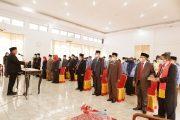 Sekda Lantik 47 Pejabat Lingkup Pemkab BU