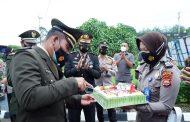 Dirgahayu TNI ke-76, Pemkab BU Turut Ikuti HUT TNI Secara Virtual