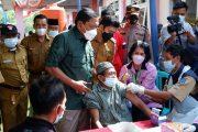 Targetkan 1 Hari 1000 Vaksin, Bupati BU Apresiasi Antusias Masyarakat Batik Nau Ikut Gebyar Vaksin