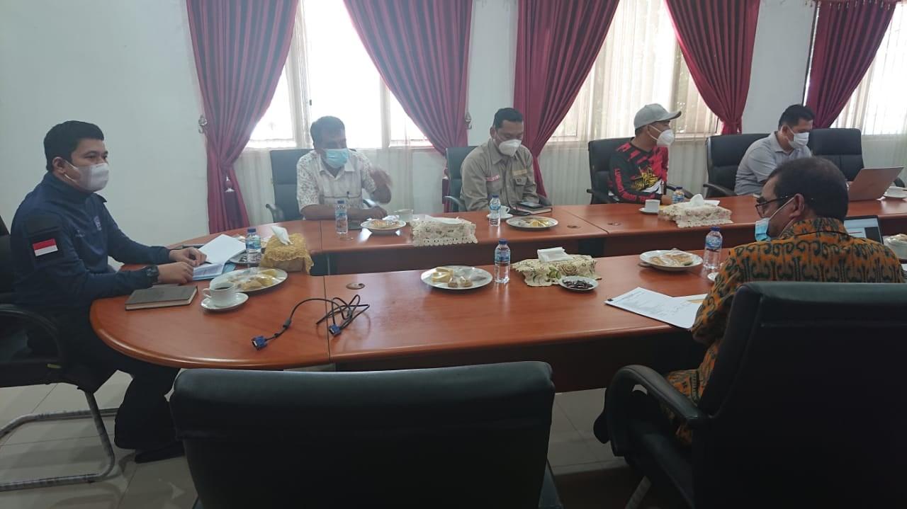 Pemkab Bengkulu Utara Terima Kunjungan BNPP, Bahas Pengawasan dan Pengelolaan Wilayah Perbatasan