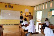 Bupati Bengkulu Utara Cek Hari Pertama PTM, Pastikan Sekolah Patuhi Prokes