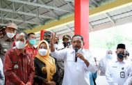 Bersama BKKBN, Bupati BU Road Show Tinjau GEBYAR 1000 VAKSIN KEC. HULU PALIK