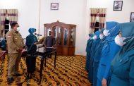 Lantik TP-PKK Se-Kecamatan Bengkulu Utara, Ketua Tegaskan Pentingnya Peran PKK Dukung Program Pemerintah