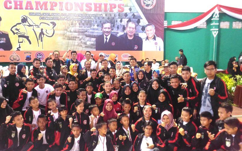 Atlet Bengkulu Utara Raih Medali Emas di Kejurnas Piala Kapolri Ke VII