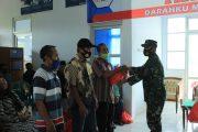 SAMBUT HUT TNI KE-75, KODIM 0423 BU GELAR DONOR DARAH