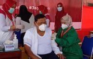 Forkopimda Bengkulu Utara Menerima Vaksinasi COVID-19 Dosis Kedua