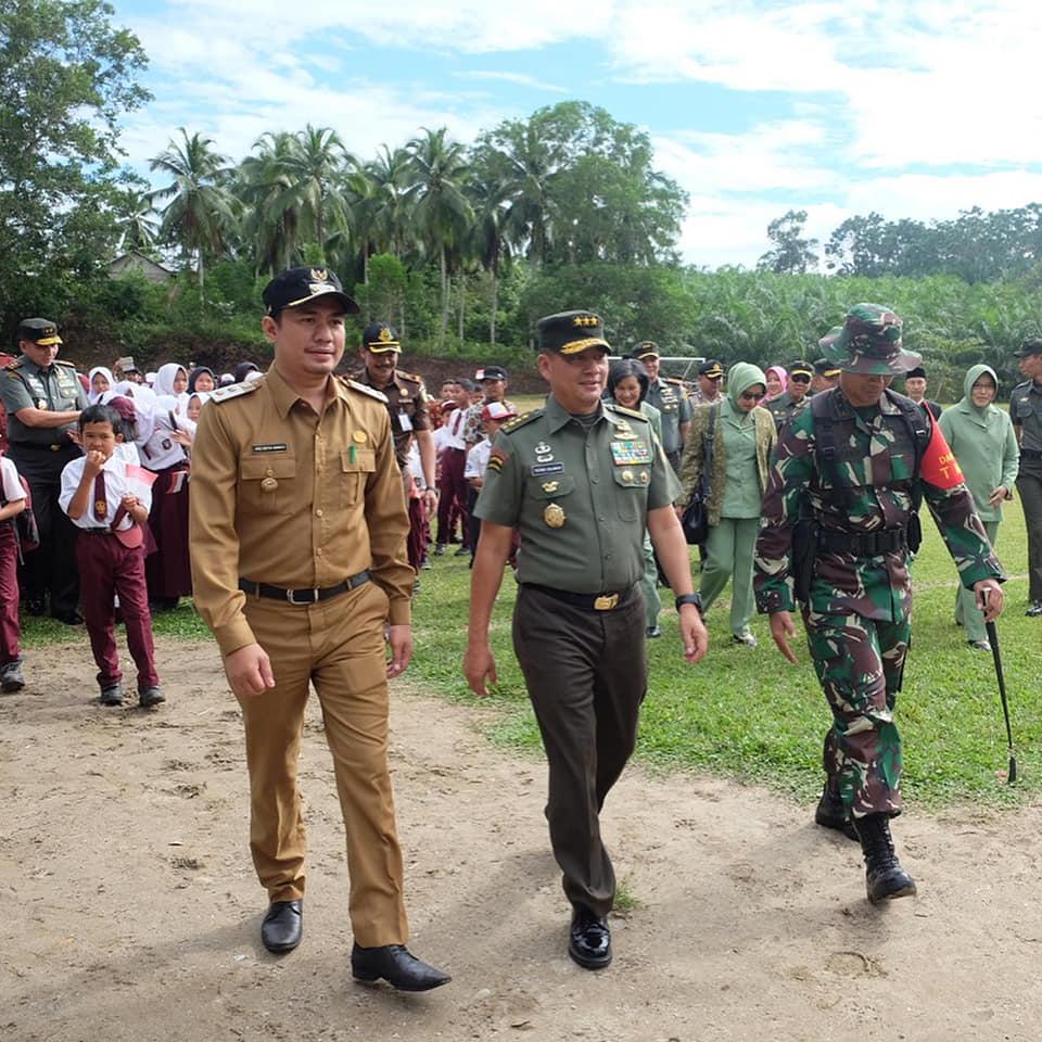 Wakasad Tutup TMMD Reg-102 di Bengkulu Utara