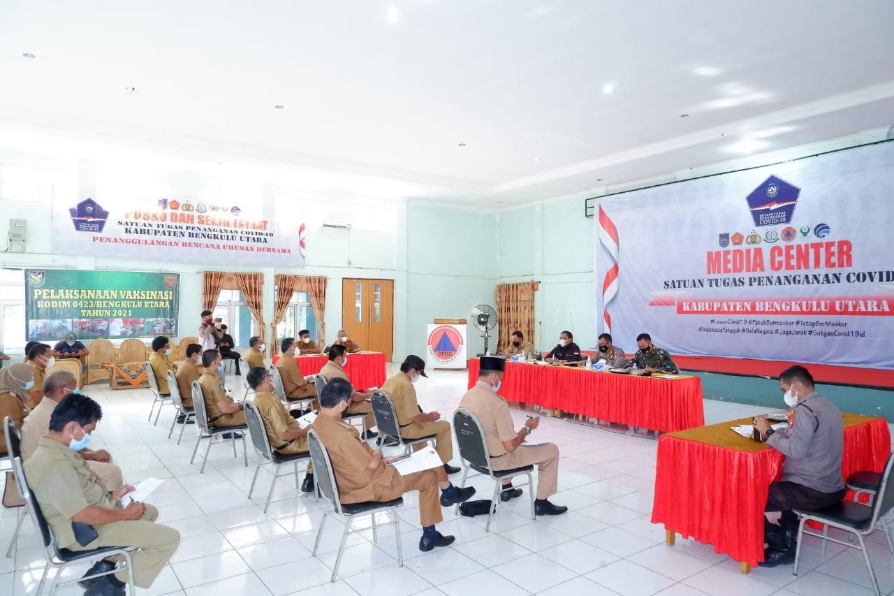 Bupati Mian Minta Penanganan Covid-19 di Tingkat Kecamatan dan Desa Dioptimalkan