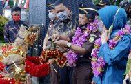 Jaga Sinergitas, Bupati BU Terima Kunjungan Kerja Kajati Bengkulu