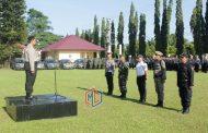 Polres Bengkulu Utara Gelar Pasukan Operasi Ketupat Nala 2018