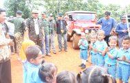 Peninjauan Lapangan Pelaksanaan Kegiatan Pembangunan ditapal Batas Bengkulu Utara – Lebong