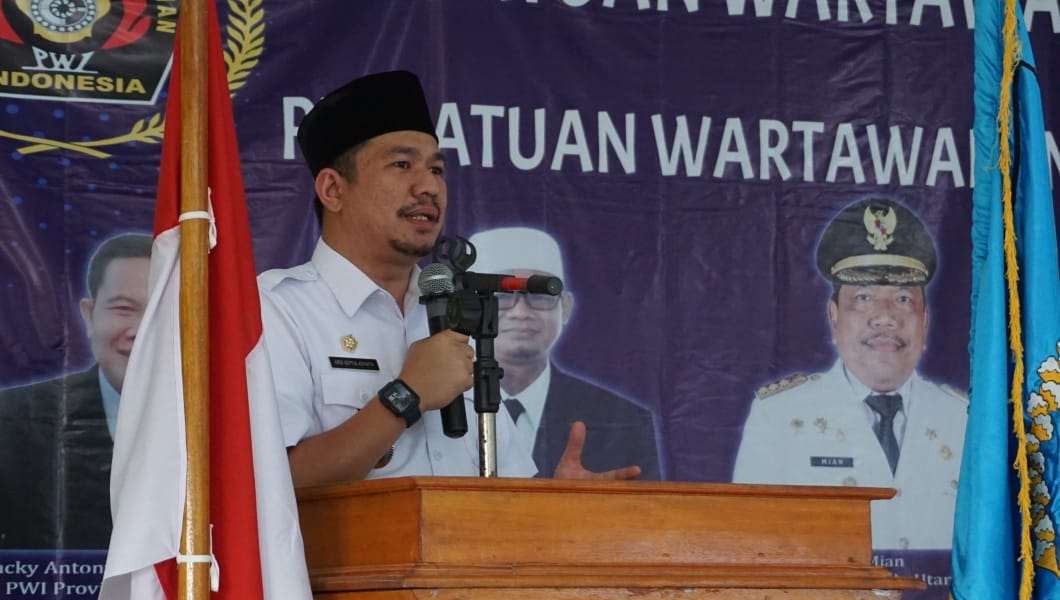 PWI Bengkulu Utara Dilantik, Wabup Harap Perkuat Sinergi