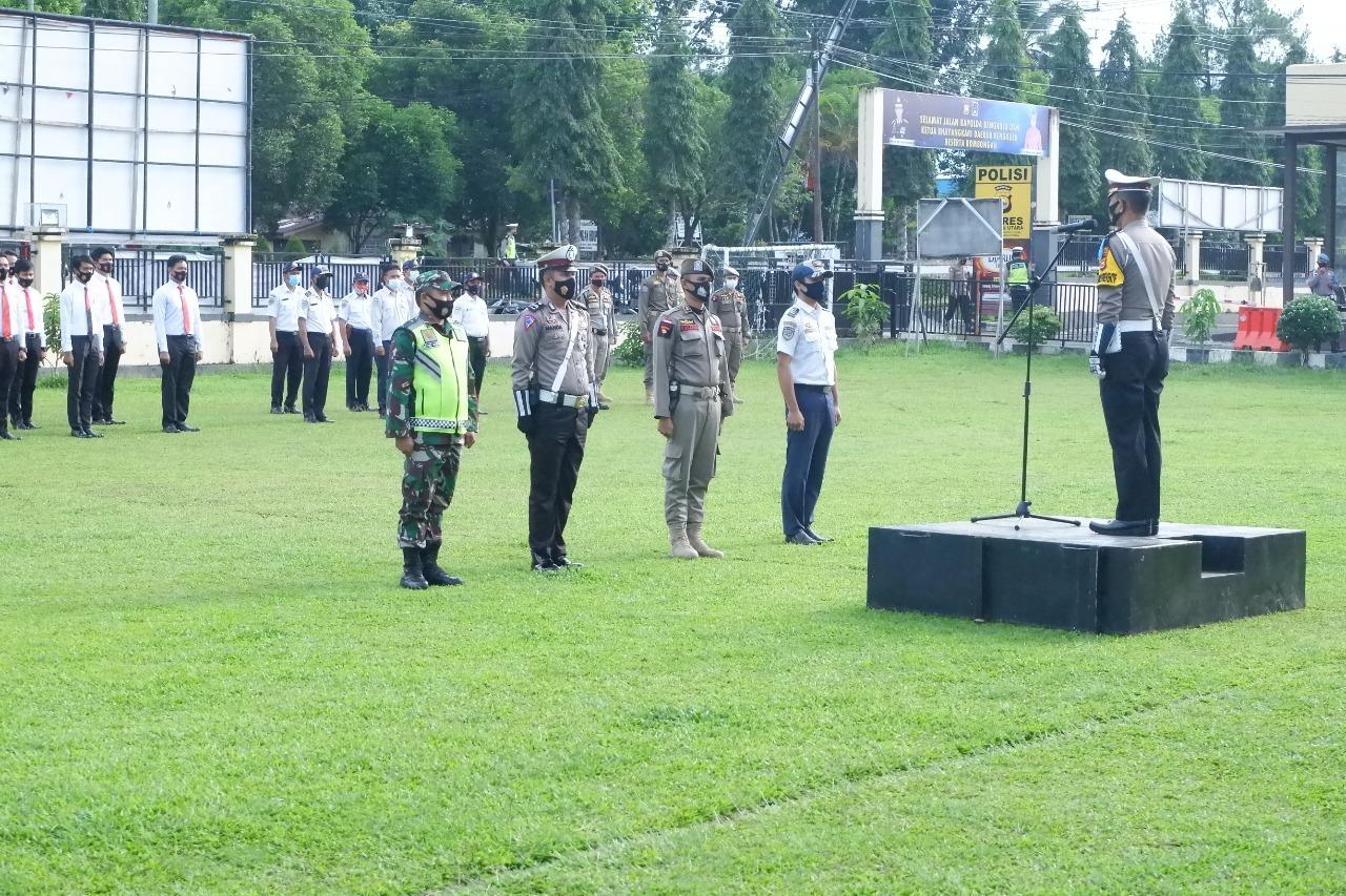 Polres Bengkulu Utara Gelar Pasukan Keselamatan Nala 2021