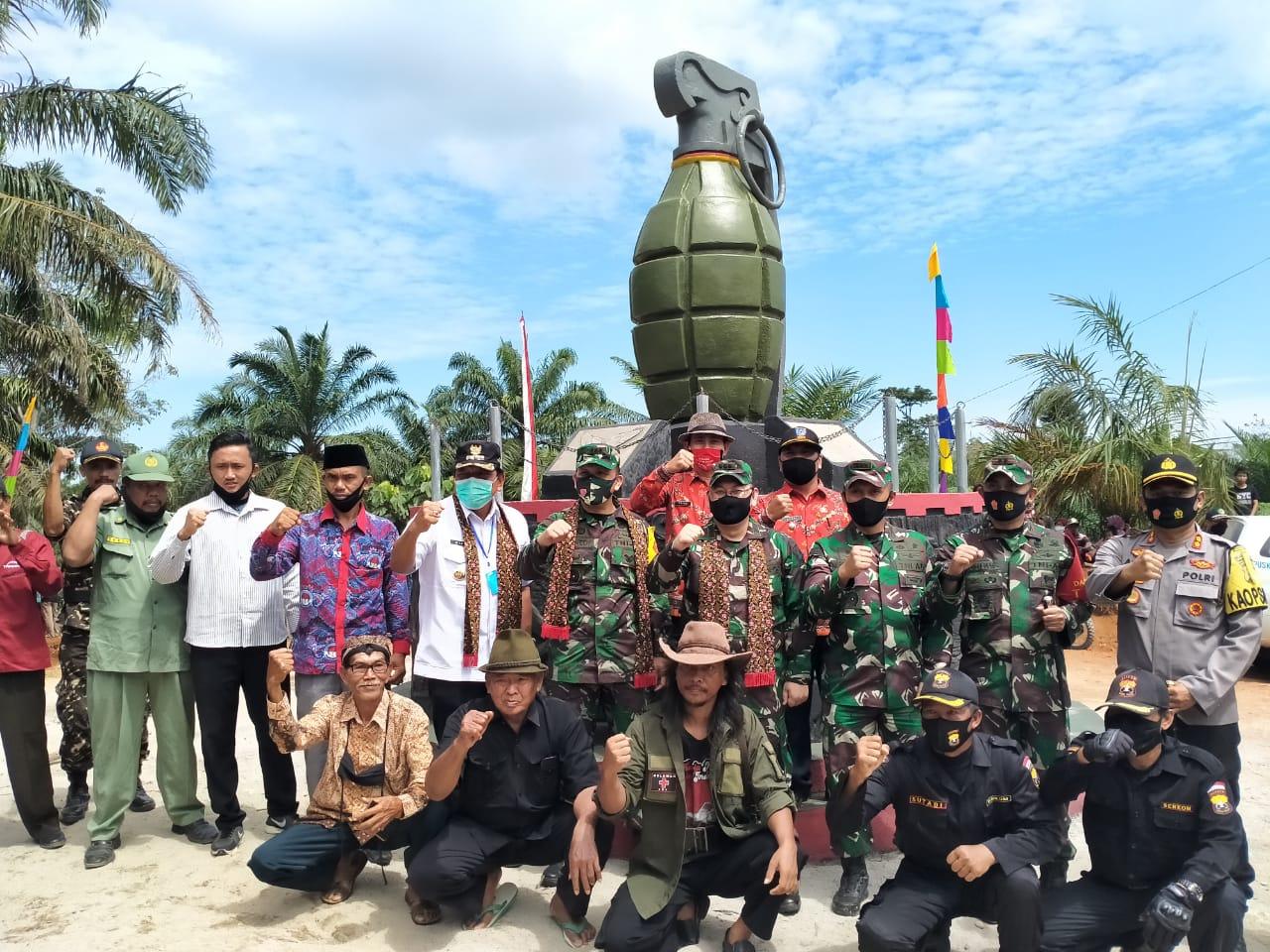 Icon Tugu Granat Menuju Pembangunan Desa Mandiri di Bengkulu Utara