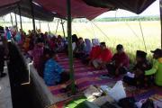 "Bupati Bengkulu Utara, Hadiri Acara ""Wiwitan""Desa Karya Jaya Kecamatan MSS"