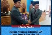 Paripurna Penyampaian Rekomendasi LKPJ Bupati Bengkulu Utara Tahun 2018