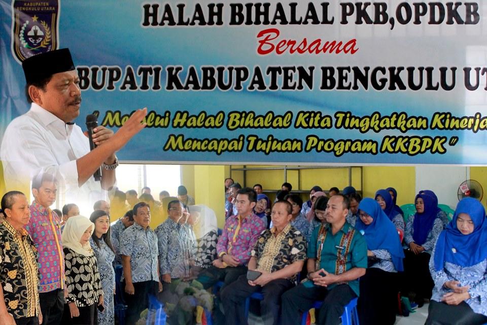 BKKBN BU Gelar Halal Bihalal Bersama Bupati Bengkulu Utara