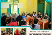 HUT IAD Ke-19, Kajari Bengkulu Utara Bersama Ketua IAD Kunjungi Posyandu Binaan