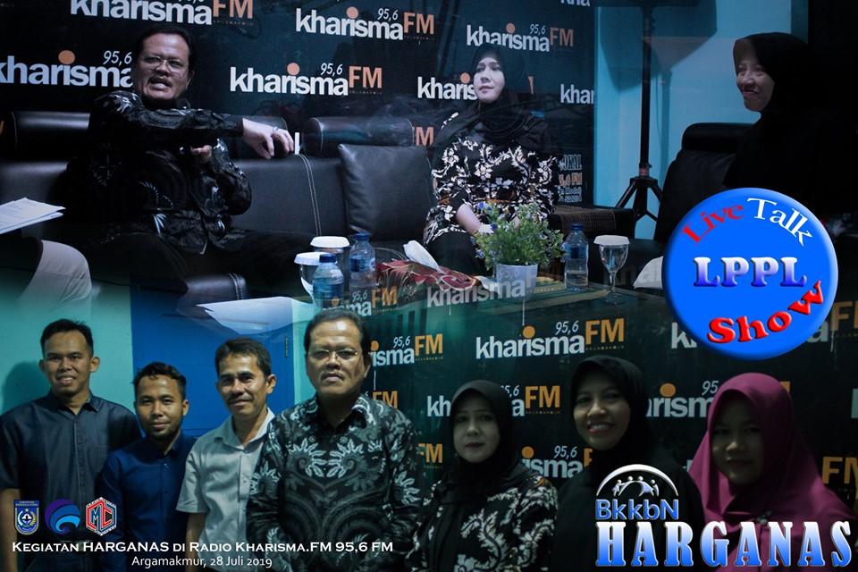 Harganas Ke-XXVI Tahun 2019, BKKBN Provinsi Bengkulu Gelar Talk Show Radio LPPL Radio Kharisma 95,06 FM Pemkab Bengkulu Utara