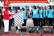 Sekda Bengkulu Utara Apresiasi Antusiasme Peserta Lomba Gerak Jalan HUT RI KE 74