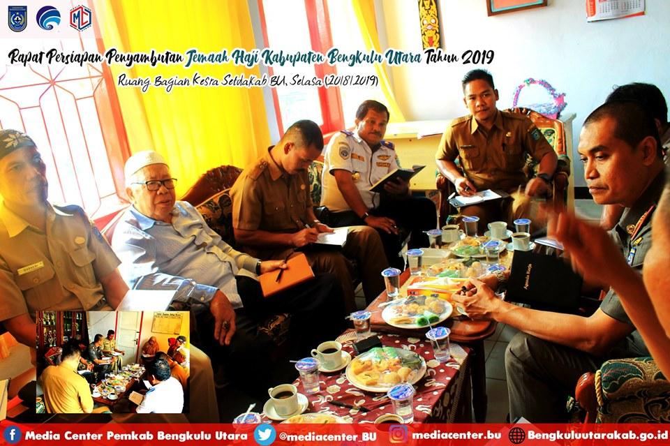Kepulangan Jemaah Haji Bengkulu Utara Akan Disambut di Masjid Agung Baitul Makmur