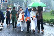 Bupati Bengkulu Utara Sambut Kepulangan Jemaah Haji BU Tahun 2019