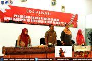 Bupati Bengkulu Utara Buka Sosialisasi Perencanaan dan Penganggaran APBD Kabupaten Bengkulu Utara Tahun 2020