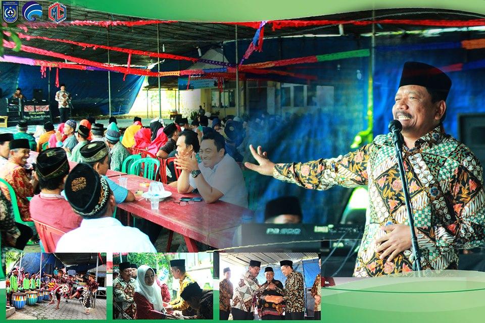 Bupati Bengkulu Utara Hadiri Selamatan Desa/Suroan di Kelurahan Kemumu