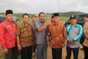 Bupati Bengkulu Utara Tinjau Lokasi Pembangunan Gedung KUA dan Pelayanan Terpadu Haji dan Umrah