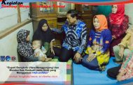 Bupati Bengkulu Utara Berikan Bantuan pada Anak yang Mengalami Hidrosefalus