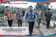 Bupati Bengkulu Utara Tinjau Rencana Lokasi Pembangunan Jembatan Tanjung Putus