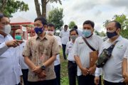 Bupati Bersama PLN Peduli Tinjau Pembangunan Pusat Wisata Kuliner di Kawasan Wisata Palak Siring Kemumu