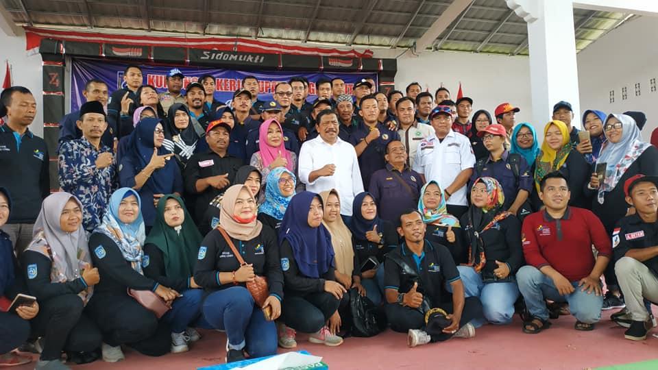 Silaturahmi Bupati Bengkulu Utara dengan keluarga Besar PKH, TKSK, dan TAGANA se-Kabupaten Bengkulu Utara